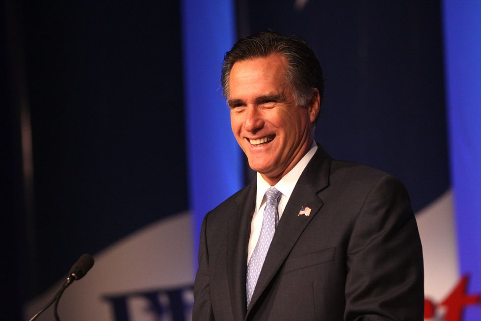 The media falls for Mitt Romney's 'Republican daddy' act — but he won't save us from Trump