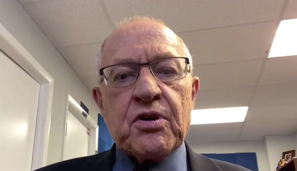Georgetown law professor explains why Alan Dershowitz's legal argument will crumble under Senate questioning: 'No sound basis'