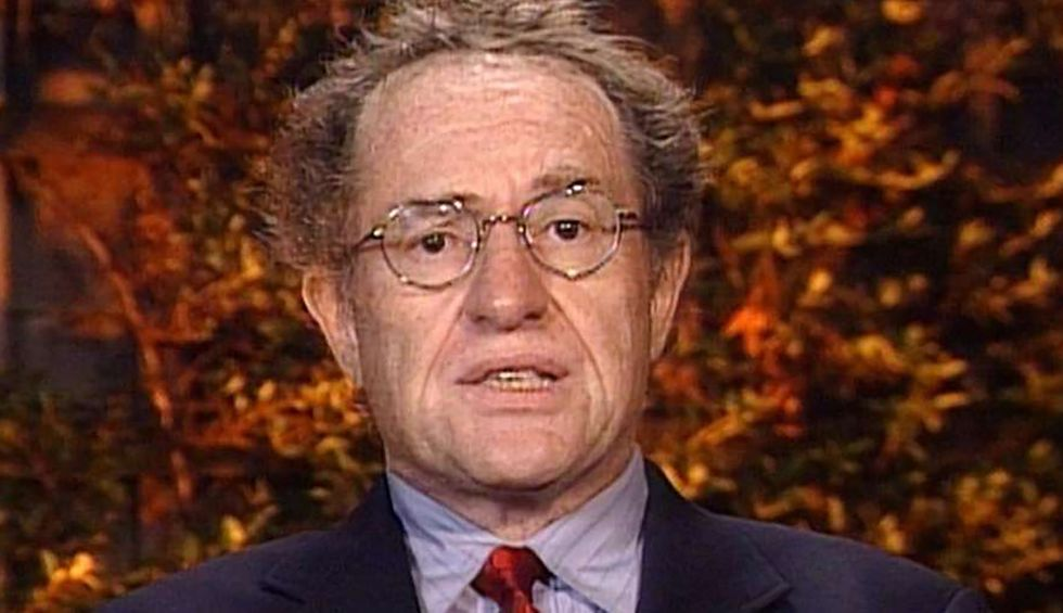 Alan Dershowitz once argued a president who 'corrupts the office' and 'abuses trust' should be impeached