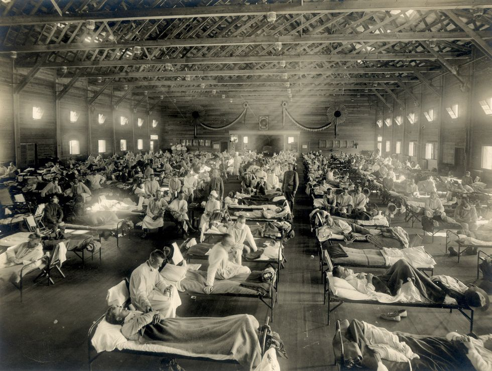 The same flu virus that caused the 1918 pandemic is back this year