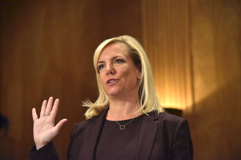 This Democrat just asked the FBI to scrutinize Trump appointee Sec. Kirstjen Nielsen's false claims as potential perjury
