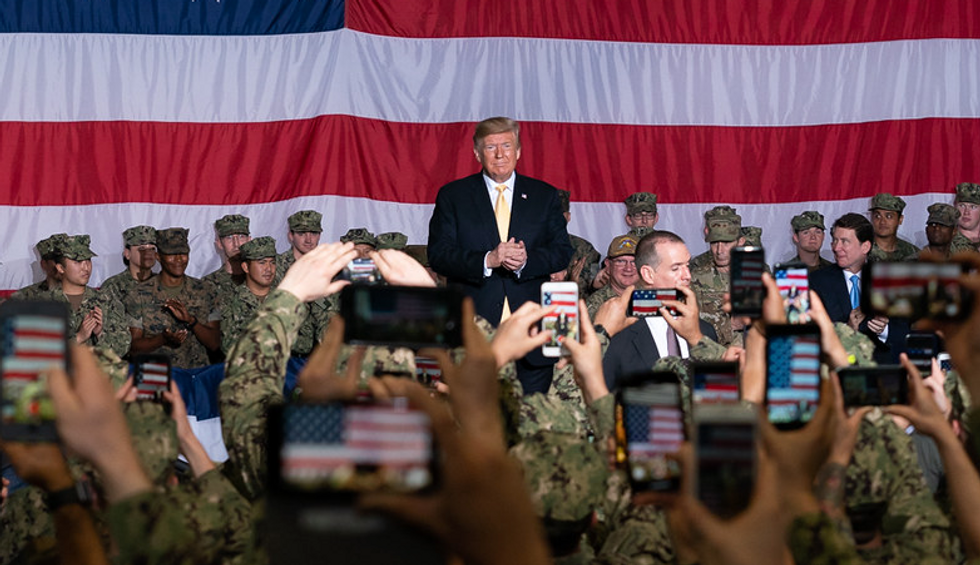 Here are 7 galling details from an explosive report on Trump's contempt for people in the military