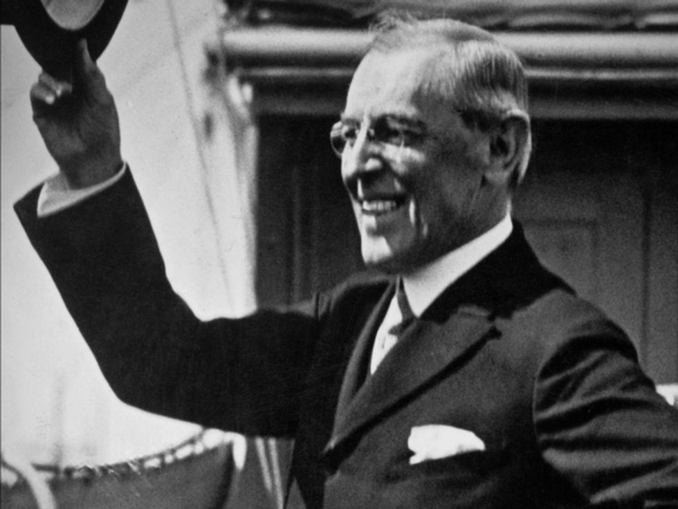 The importance of watching the health of a US President: the Spanish flu and a flawed peace treaty