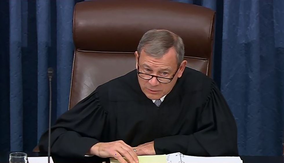 Justice John Roberts legacy will hinge on whether he lets Republicans get away with their sham impeachment trial: CNN