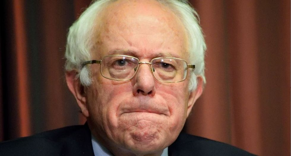 Bernie has to do better than this