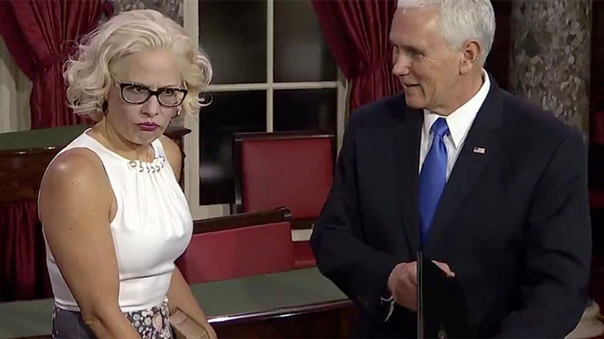 McConnell privately assures GOP that Kyrsten Sinema will kill Biden's tax hike: report