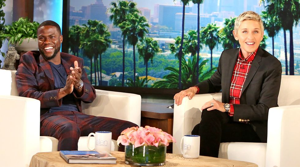 Ellen's Kevin Hart interview, 'haters' and the celebrity victim complex