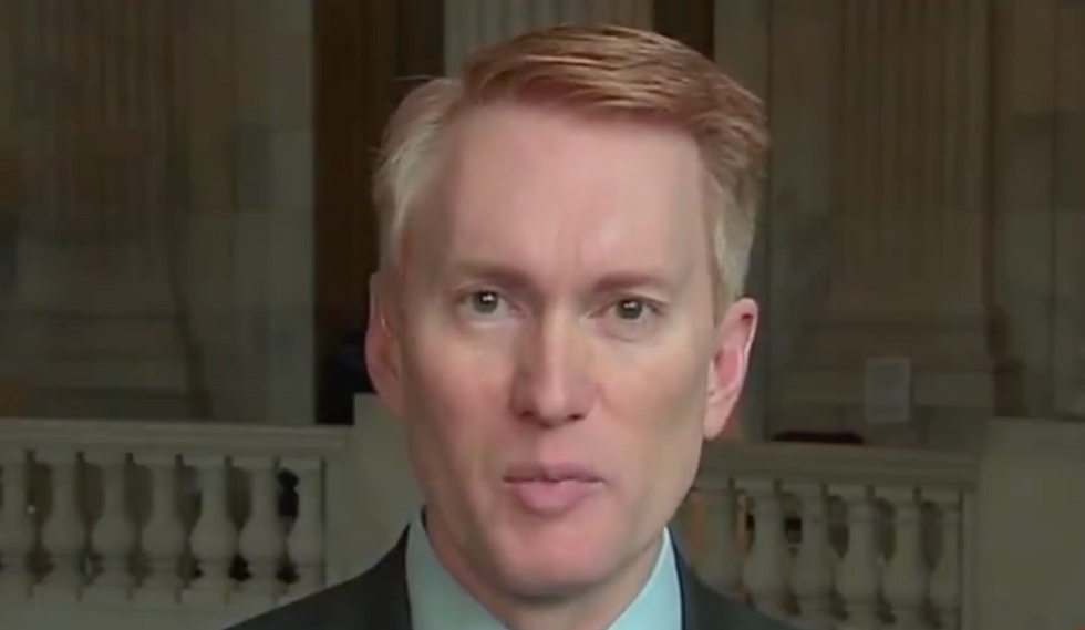 'You're trying to put me on the spot': GOP senator whines when he can't list a single case of Trump caring about corruption