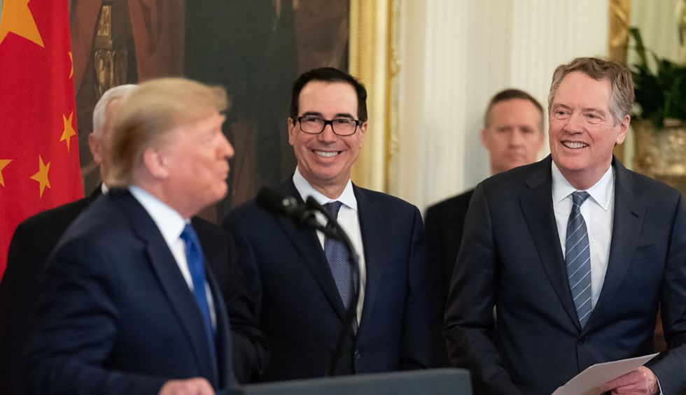 Steve Mnuchin admits Trump's budget cuts Social Security even as president claims he is 'not touching' the program