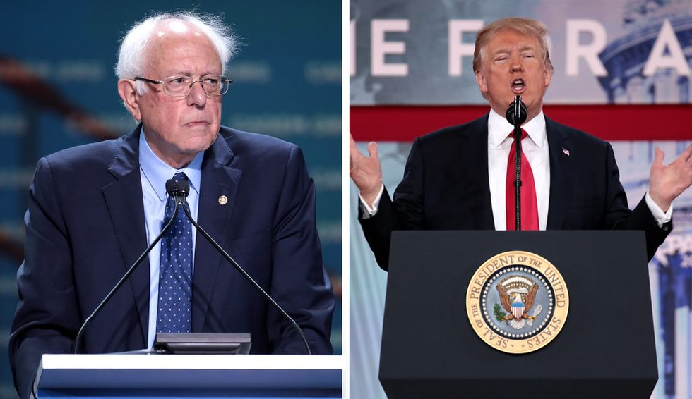 'The only one I didn't want her to pick': Recording of Trump private dinner shows he feared Bernie Sanders on 2016 ticket