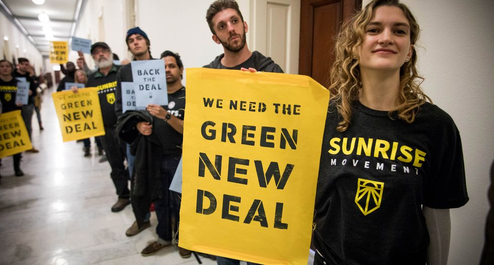 The Sunrise Movement warns Pelosi: Your actions on climate fall inexcusably short