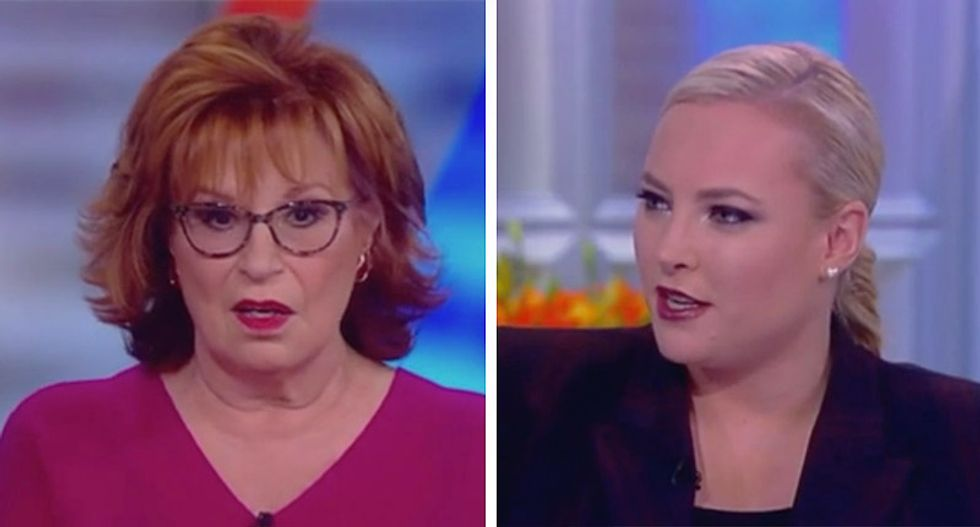 The View's Meghan McCain insists Michele Bachmann is more likable than Hillary Clinton — and gets immediately schooled