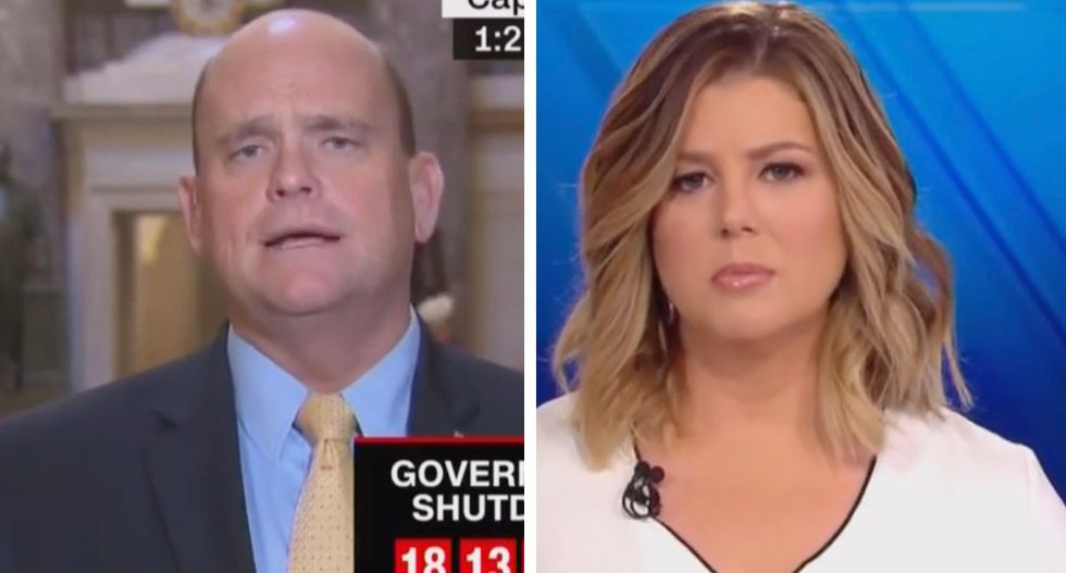 CNN host corners GOP Rep who refuses to forgo his congressional paycheck amid government shutdown: 'Why wouldn't you do that?'