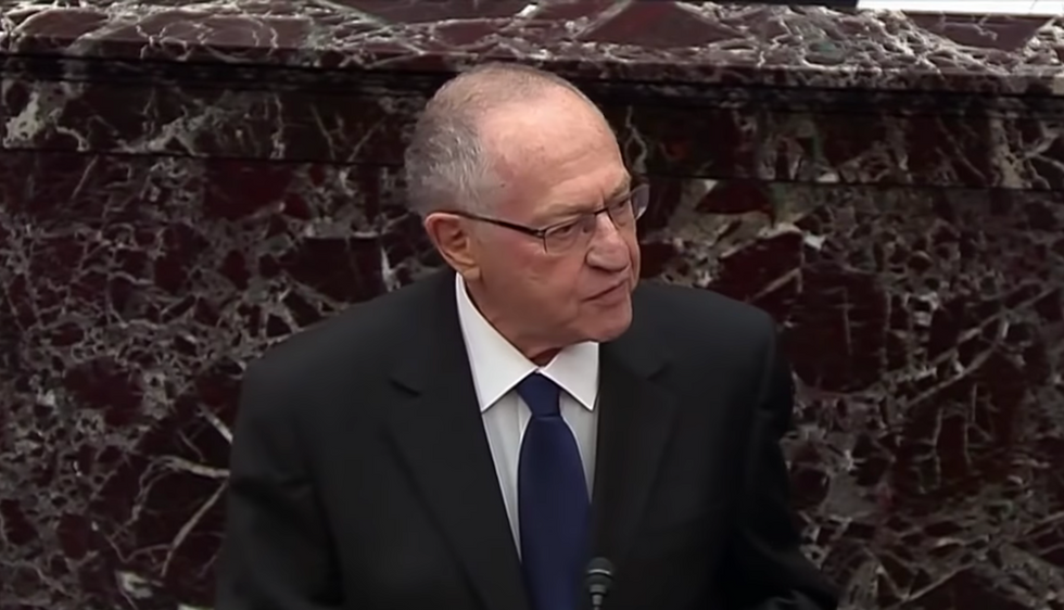 We should thank Alan Dershowitz for exposing Trump's defense for what it really is