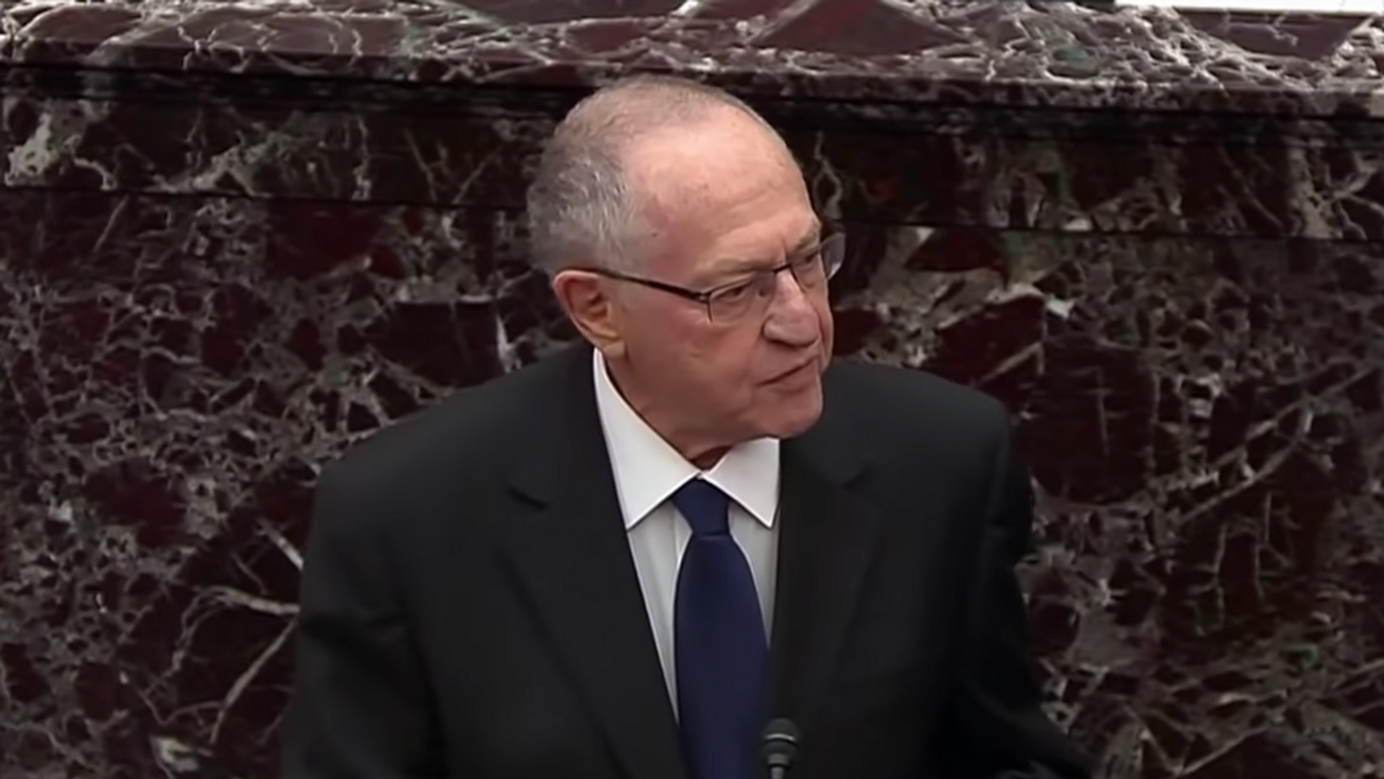 The Senate made a historic mistake by accepting the profoundly dangerous 'Dershowitz precedent'
