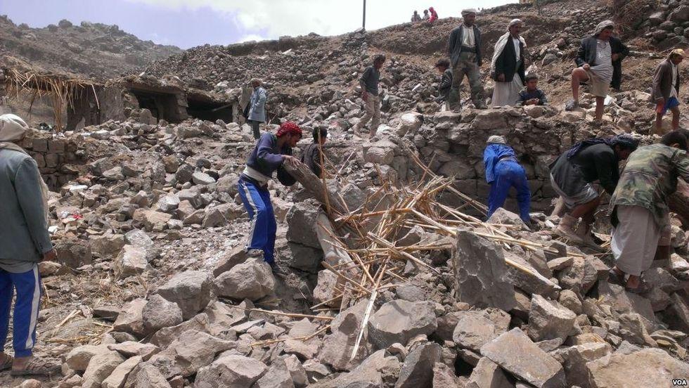 UN condemns 'shocking' US-backed Saudi coalition bombing that killed 31 Yemeni civilians