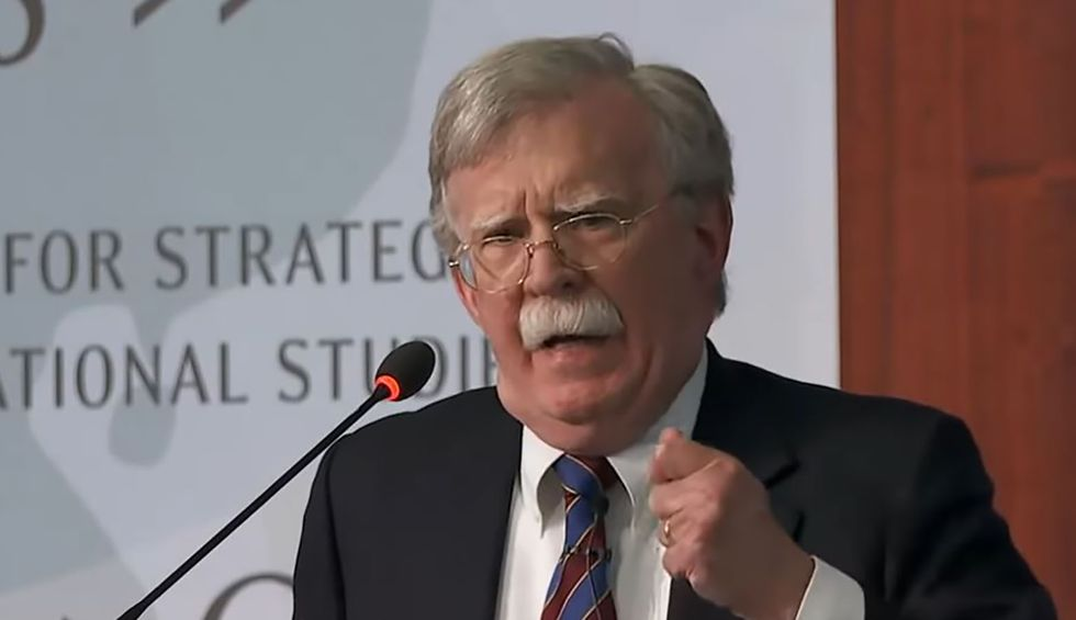 Trump claims 'any conversation with me is classified' as he warns Bolton over new book