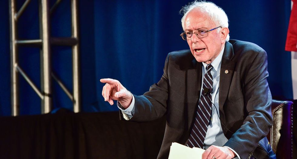 Bernie Sanders slams Trump for stoking 'fear and hatred' with lie-filled national address