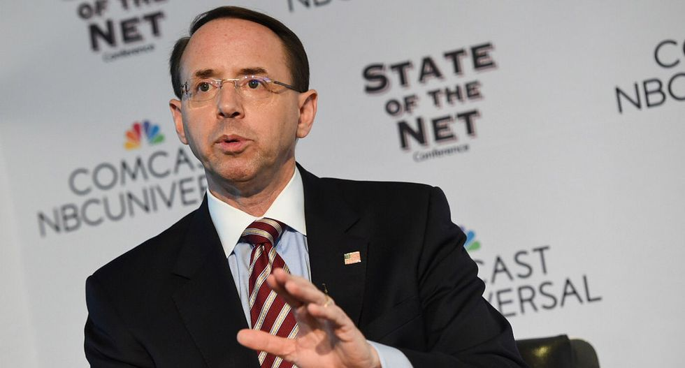 Andrew McCabe: Deputy Attorney General Rosenstein was serious when he suggested wearing a wire while talking to Trump