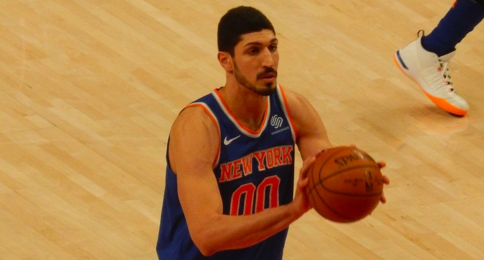 NBA star Enes Kanter has reason to fear Turkish strongman backed by Trump