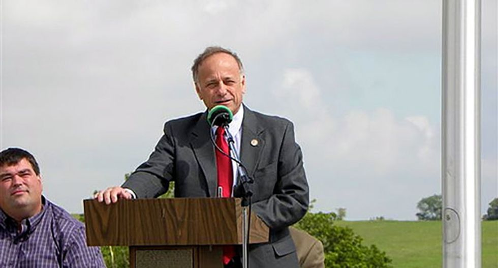 Steve King lashes out with a pathetic defense for his racism after GOP leaders punish him