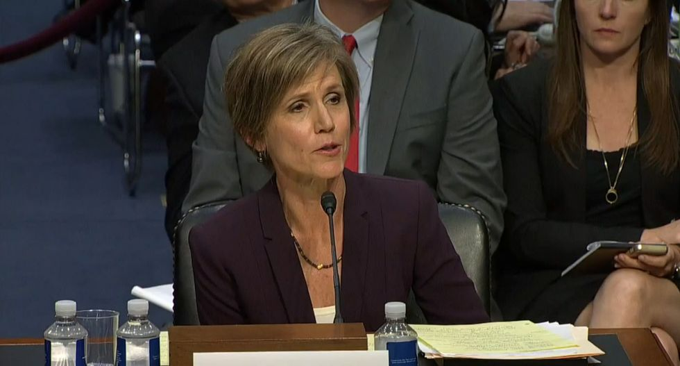Sally Yates' warnings about Russia's stronghold on Mike Flynn just took on a whole new significance