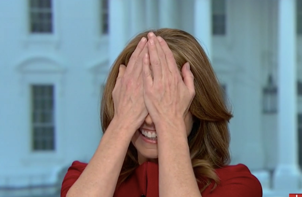 'He doesn't have any core beliefs!': MSNBC's Nicolle Wallace loses it when her guests refuse to say Trump is a Russian asset