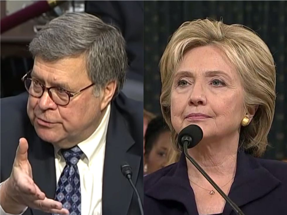 NYT reveals email showing Trump's AG pick buys into a bogus right-wing conspiracy theory about Hillary Clinton