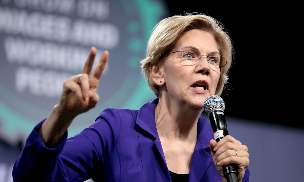 Elizabeth Warren has been 'virtually erased' from mainstream media coverage following Iowa debacle — despite outperforming Joe Biden: journalist