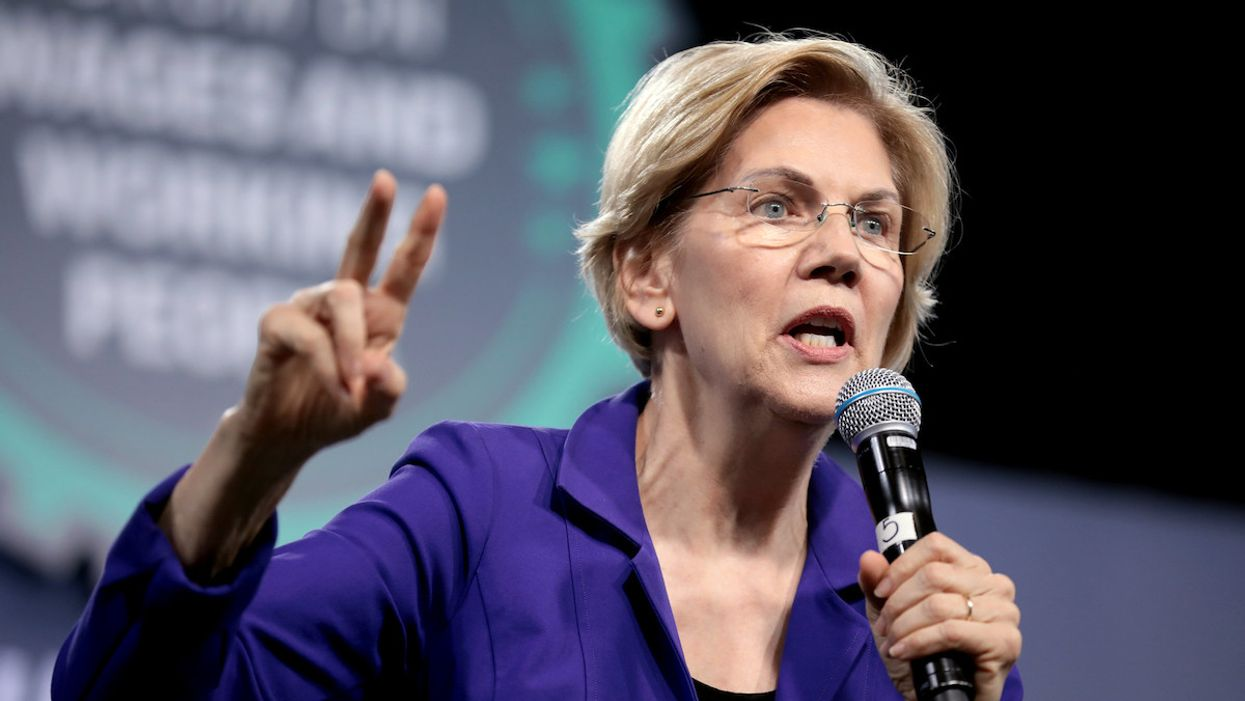 Sen. Warren calls for investigation into 'dark money' used to fund US Capitol riot