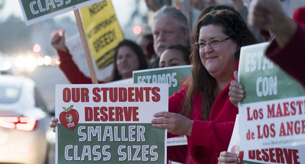 This is what made a teaching assistant realize the power of unions