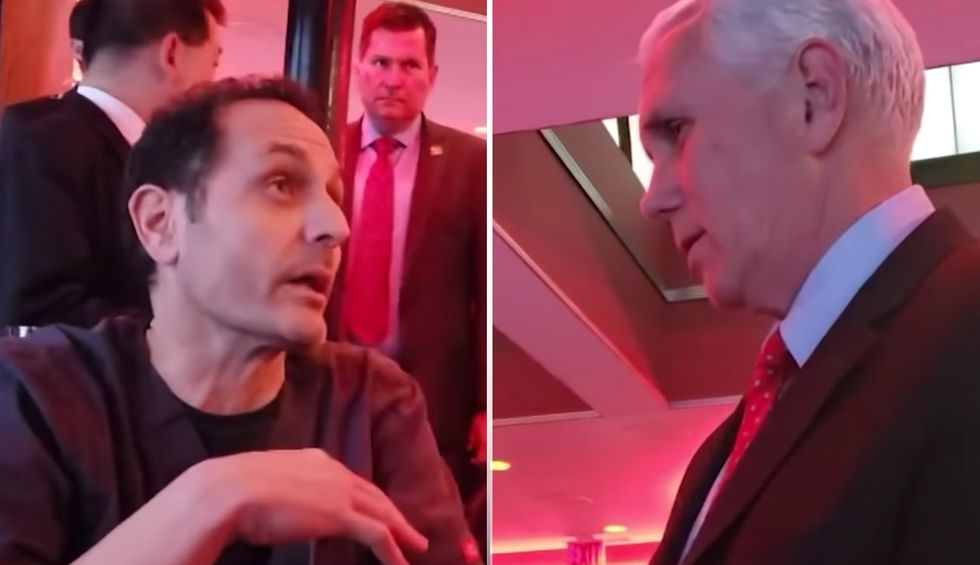 Watch Mike Pence fail spectacularly when ER doctor confronts him about Trump's Medicaid cuts