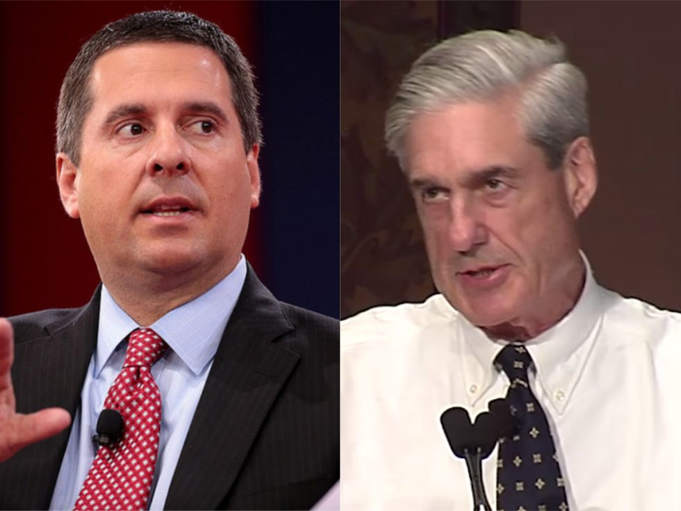 Mueller is scrutinizing Devin Nunes' meeting with a convicted Trump aide and foreign officials: report