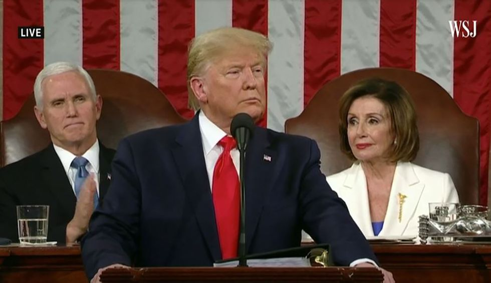 Trump 'described an imagined economic record and he pretended it was real' during SOTU speech: fact checker