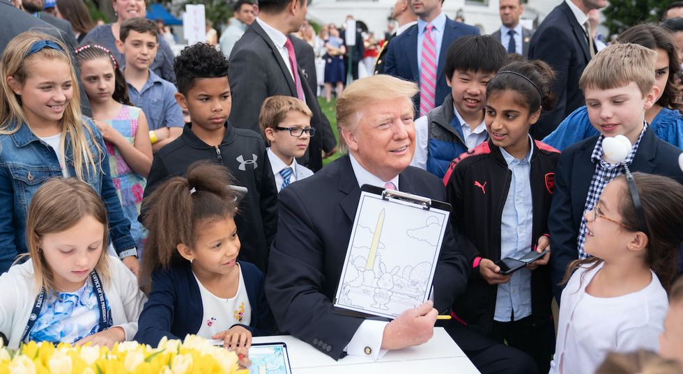 Here's what kids think about President Trump