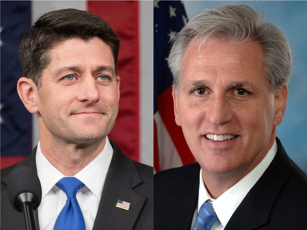 New GOP House leader just stabbed Paul Ryan in the back on his way out over Steve King's racist comments