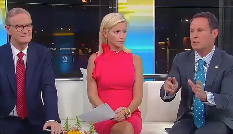 'What a disaster': Fox & Friends' Brian Kilmeade battles his co-hosts after they defend Trump's decision to 'abandon our allies' in Syria