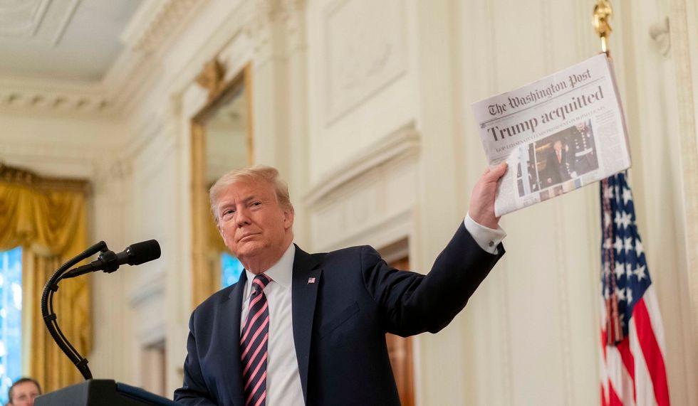 'It is Ukraine all over again': Ex-Trump ethics chief decries the president's new 'quid pro quo'
