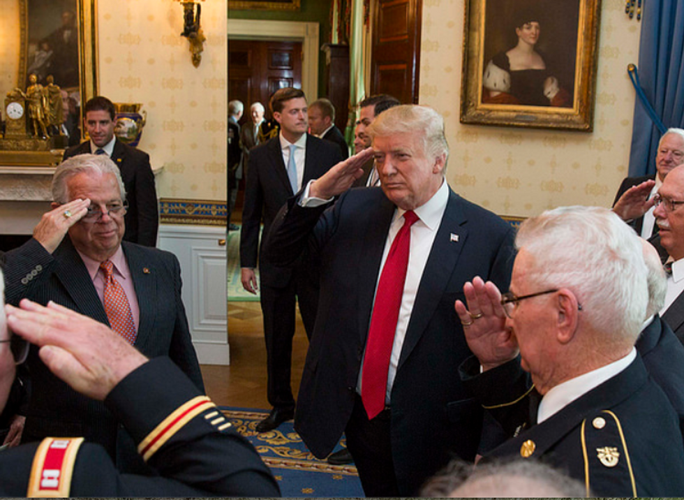 Military expert warns support for Trump in the US armed forces is 'downright cult-like' — and creating frightening divisions within the ranks