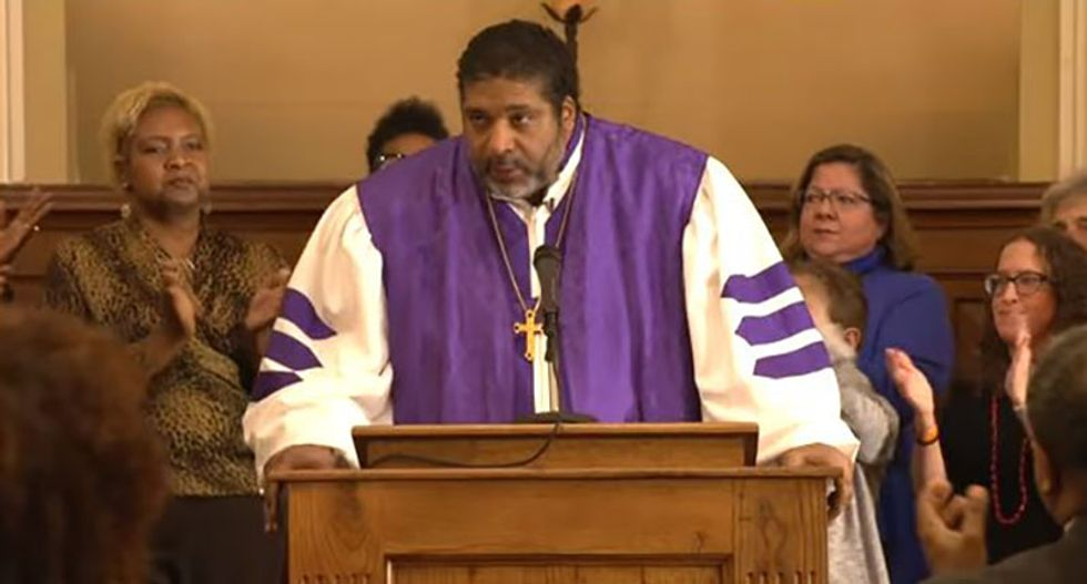Watch: Rev. William J. Barber II delivers soaring sermon in honor of Martin Luther King Jr.
