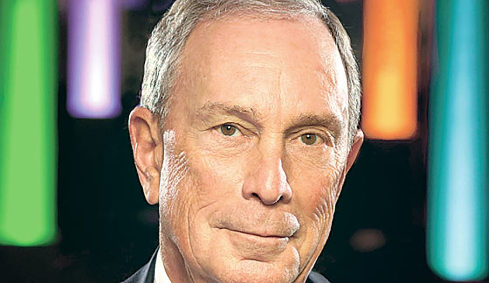 'Former GOP oligarch' Bloomberg aired an ad criticizing online vulgarity. Progressives are not amused