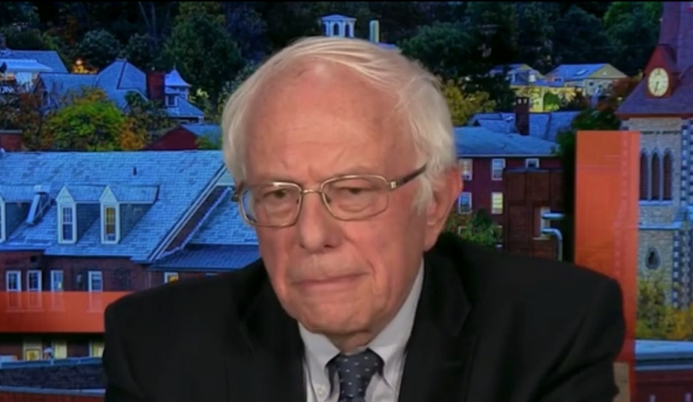 CEO who ran Goldman Sachs during financial crisis warns Bernie Sanders will 'ruin' economy