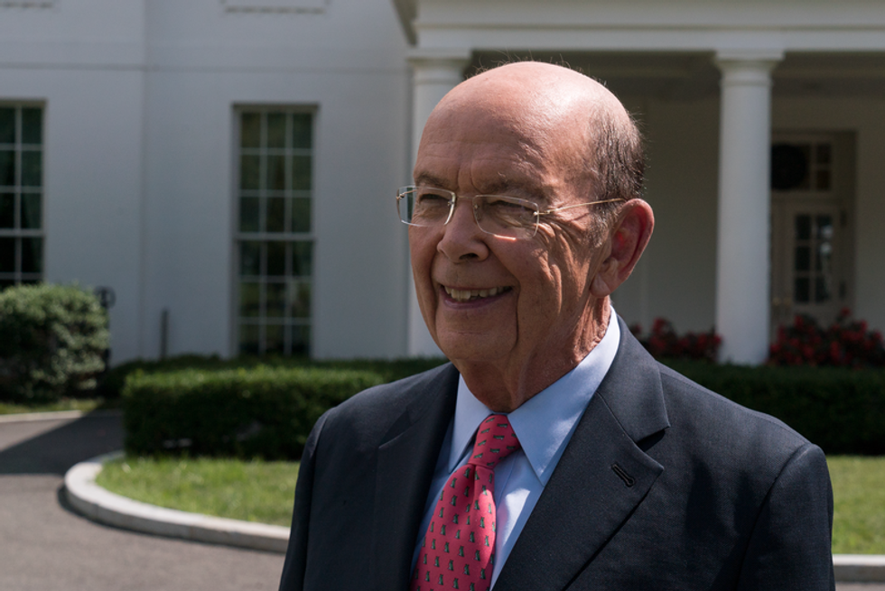 Trump's Commerce Secretary schooled for saying he doesn't understand why federal workers are visiting food banks