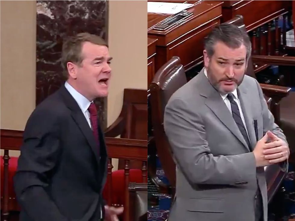 'People were killed!': This Democratic senator furiously tears into Ted Cruz's hypocritical 'crocodile tears' over the government shutdown