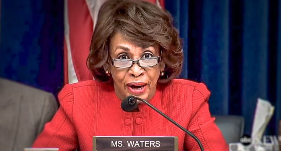 Getting nervous? Wall Street CEOs hold private meeting with Maxine Waters after criticism
