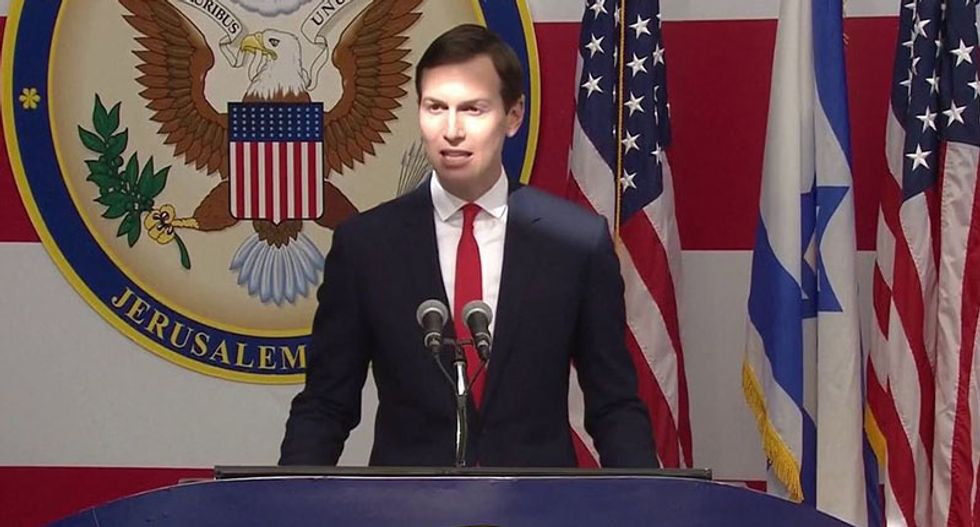 Did Jared Kushner support a blockade of a US ally as payback because it would not fund his family's business?