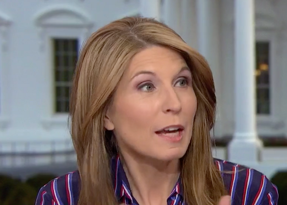 MSNBC's Nicolle Wallace offers Nancy Pelosi a brilliant plan to humiliate Trump at the State of the Union