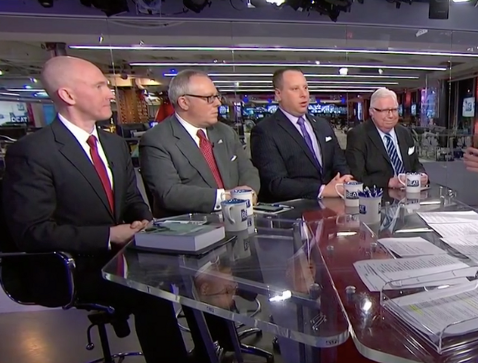 'He should shut up!': Interview with four Mueller witnesses breaks into bickering on MSNBC