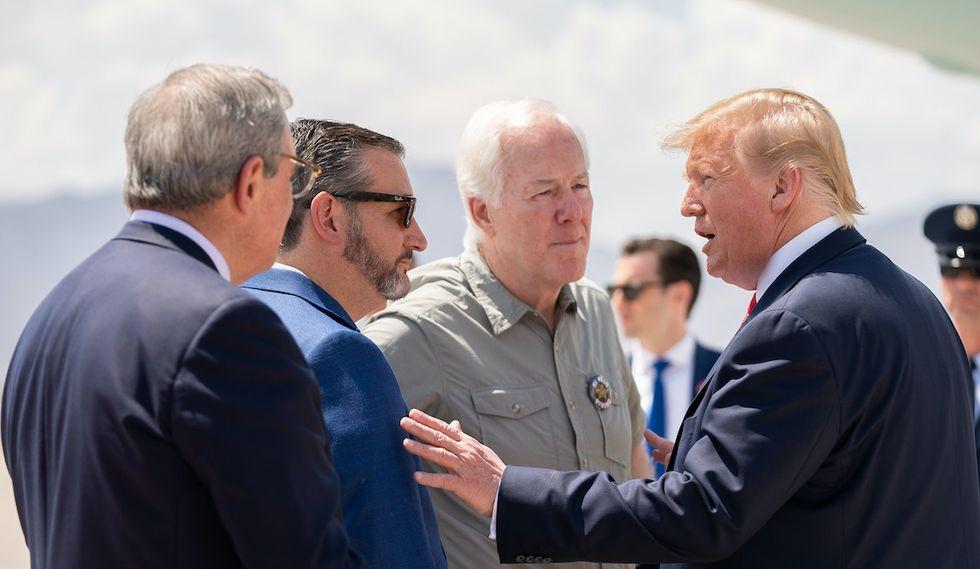 In a rare move, Republicans tell President Trump 'no'