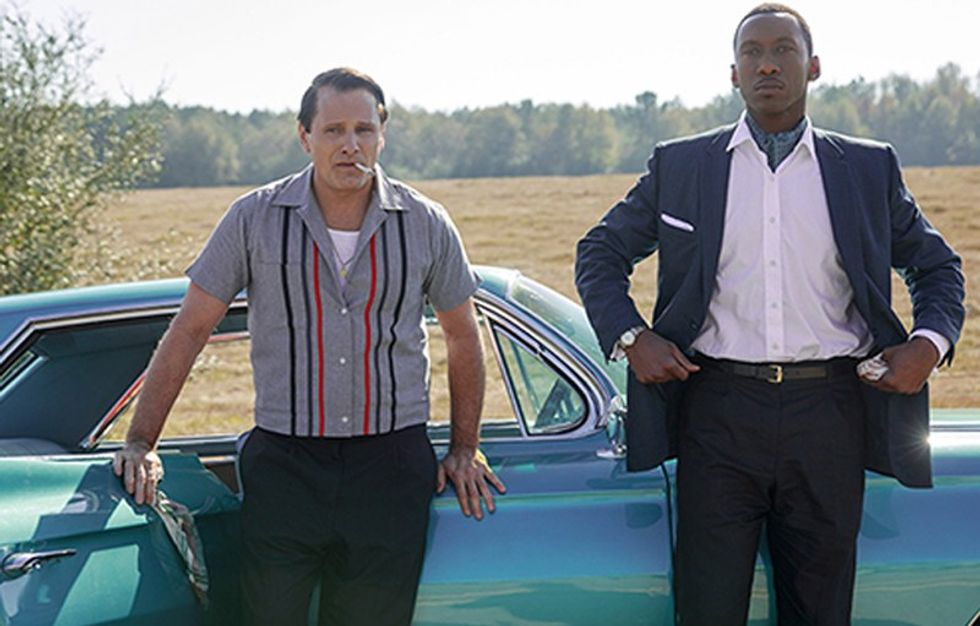 The 'sympathetic racist' returns to the big screen in 'Green Book'